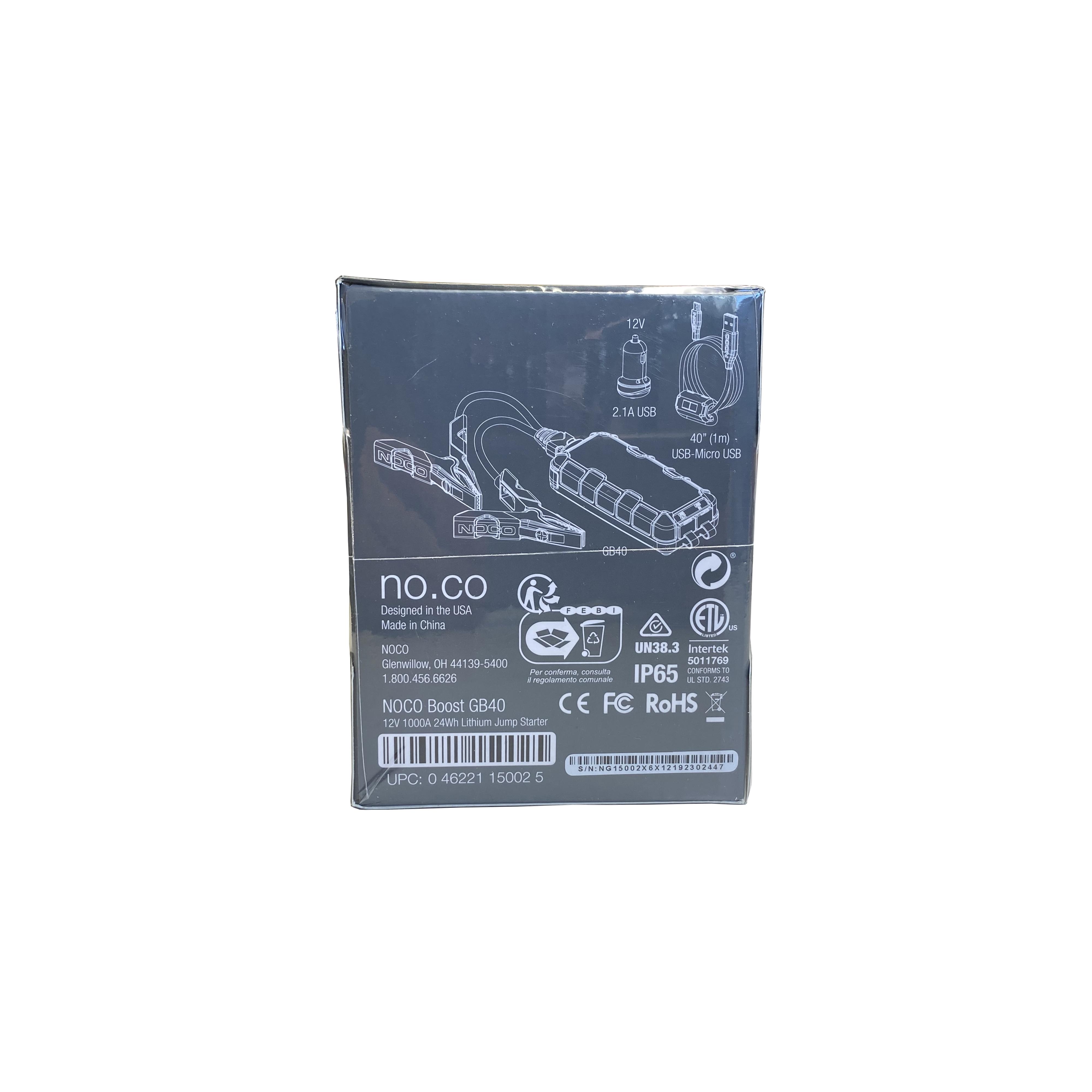 noco genius gb40 1000a 12v 6l 3l petrol diesel jump starter booster battery pack ebay. Black Bedroom Furniture Sets. Home Design Ideas