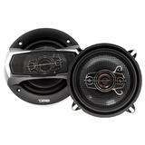 "DS18 Car Coaxial Speakers 5.25"" Inch 160w Watt 4Ohm 4 Way SLC-N525X Pair"