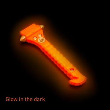 LIFE SAFETY PRODUCTS  LHORGL01 Glow In The Dark Lifehammer Single Thumbnail 3