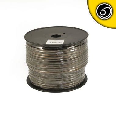 Bassface PWN8.2 OFC 8AWG 8.4mm Black Negative Wire Cable Spool 75m 728 Strand Thumbnail 2