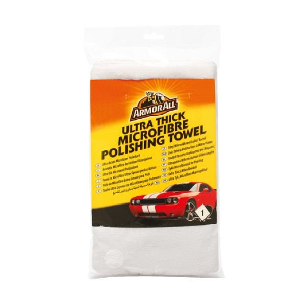Armorall 40074EN Car Cleaning Ultra Thick Microfibe Polishing Towel Single