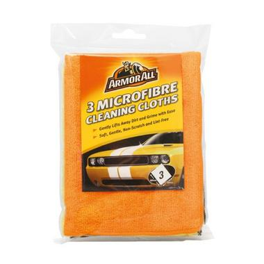 Armorall 40075EN Car Detailing Microfibre Cleaning Cloths 3 Pack 3 Pack Thumbnail 1