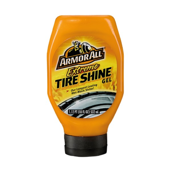 Armorall 48530EN Car Cleaning Extreme Tire Shine Gel Long Lasting 530ml