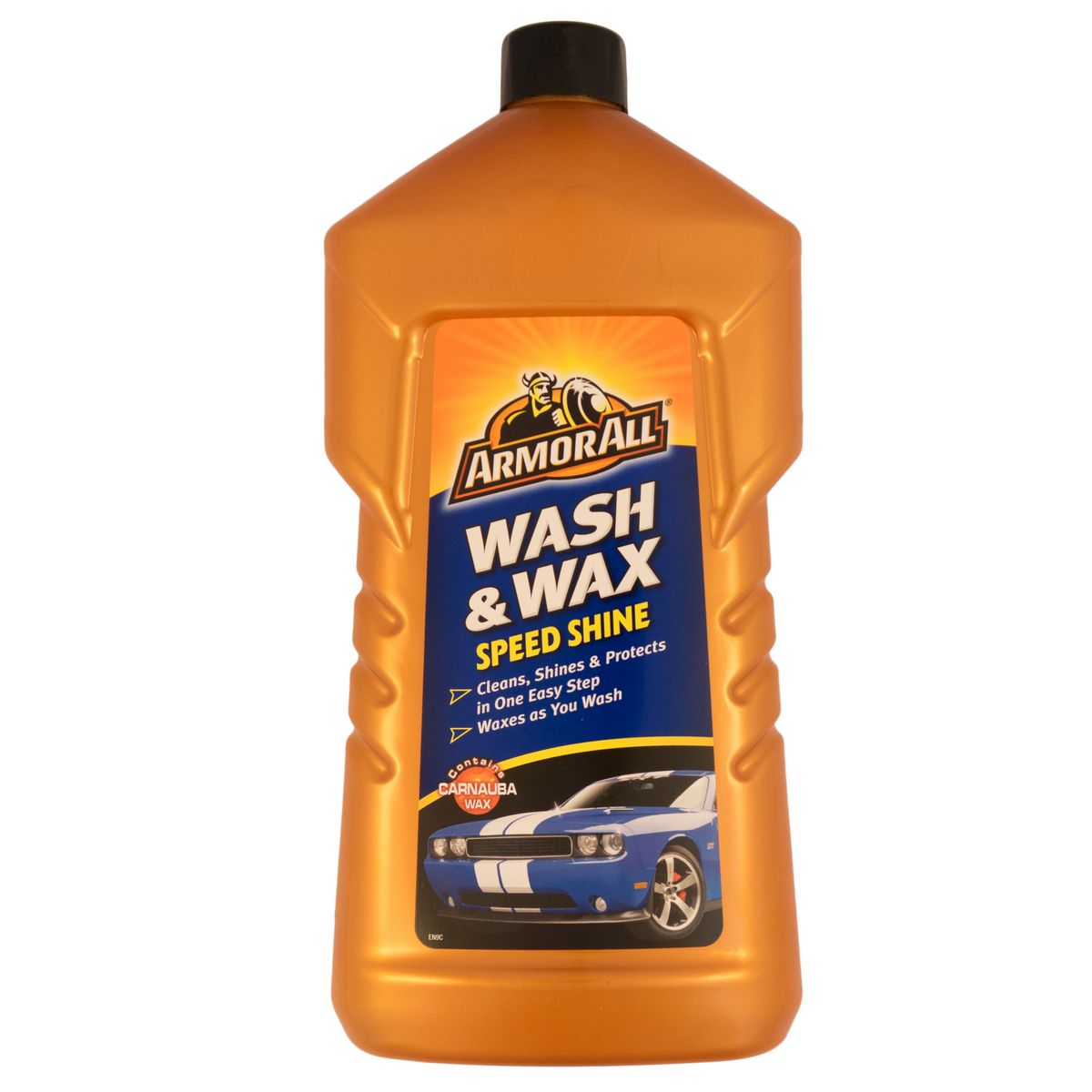 Armorall 24001ENO Car Cleaning Slick Finish Wash and Wax Shampoo 1 Litre