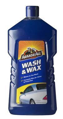 Armorall CLO24001ENO Car Cleaning Slick Finish Wash and Wax Shampoo 1 Litre Thumbnail 1