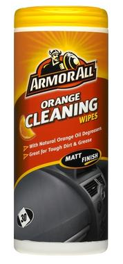 Armorall CLO45030EN Car Cleaning Interior Dashboard Orange Wipes Single Thumbnail 1
