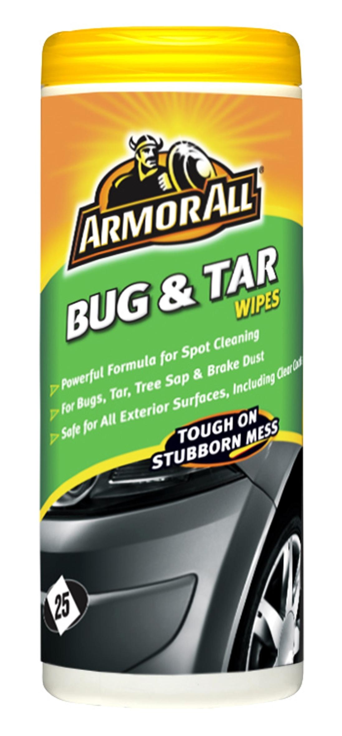 thompsons ltd armorall clo75025en car cleaning detailing bug shifer wipes single. Black Bedroom Furniture Sets. Home Design Ideas
