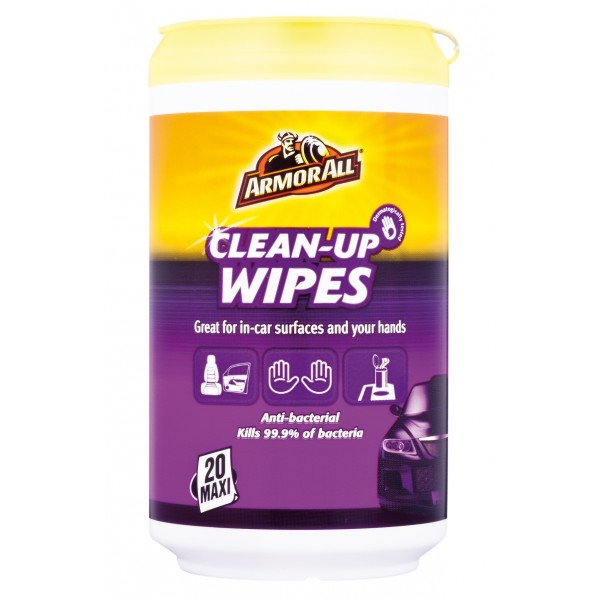 Armorall CLO87020EN Car Cleaning Detailing Clean up Wipes Single