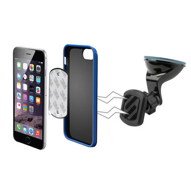 Scosche MAGWSM2I Magnetic Magic Mount Dash Window Phone Ipad Satnav Tablet Holder Thumbnail 1