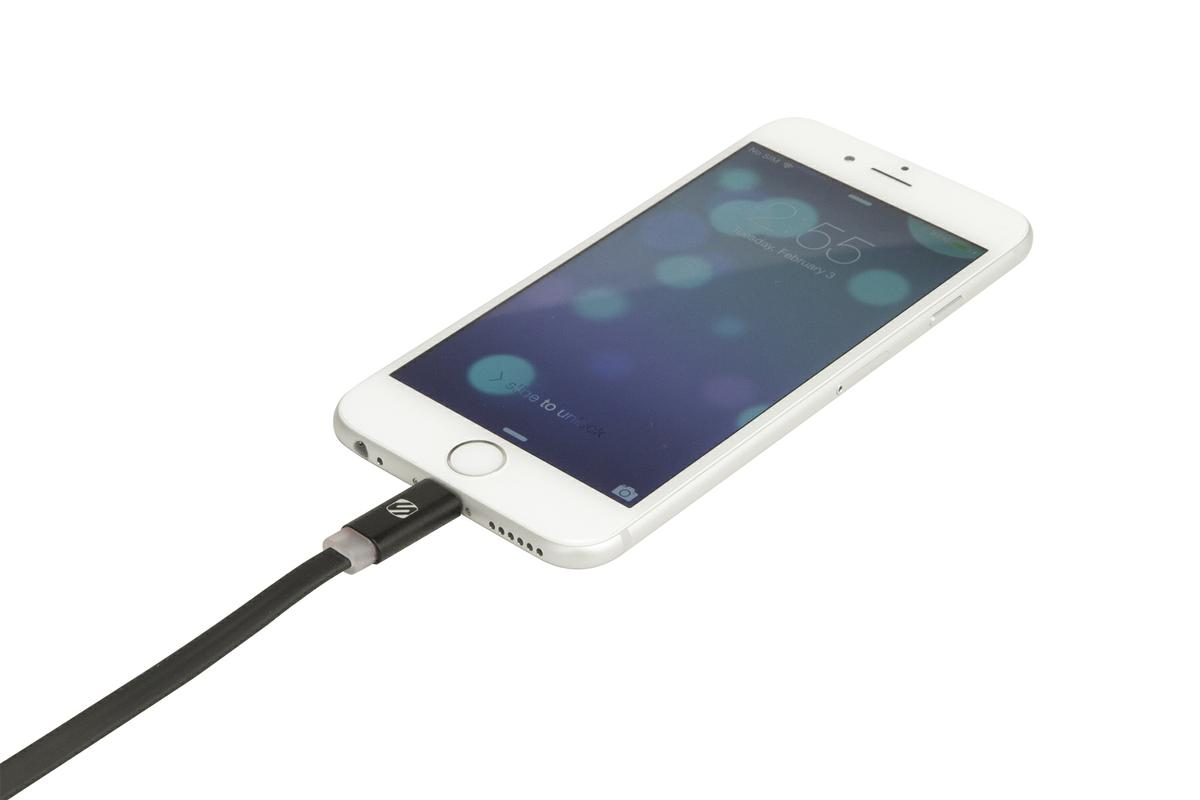Scosche I3FLED Charge & Sync Cable With Led For Iphone