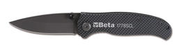 Beta 017780089 Automotive 1778 SCL Carbon Fold Away Knife Single