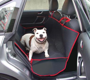 Streetwize SWPC5 Automotive Car Pet Rear Seat Protection Cover Single Thumbnail 1