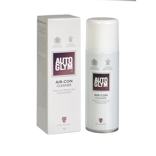 Autoglym ACC150 Car Aircon Cleaner Sanitizer Fresh Smell Anti Bacterial Remover