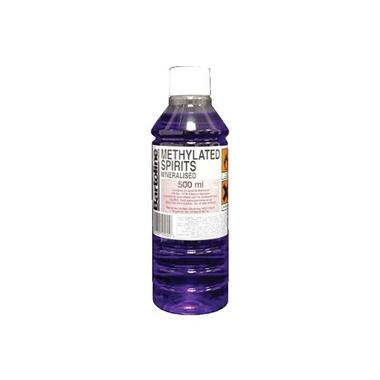 Bartoline 55590000 Methylated Spirts 500ml Thumbnail 1