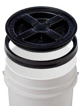 Poorboys PB-Bucket Car Cleaning Valeting ShampooWash Bucket With Gamma Seal Lid Thumbnail 2