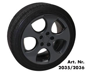 Foliatec FT2036 Alloy Wheel Car Boat Bike Spray Film Gloss Black 400ml Aerosol