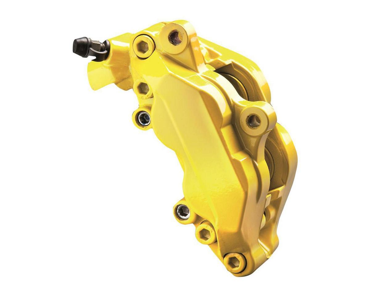 Foliatec FT2161 Brake Caliper Paint Car Van Bike Speed Yellow 3 Part Gloss Kit