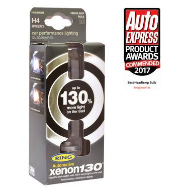 Ring Automotive RW3372 12V 55W 472 H4 130% Xenon Professional Headlight Bulbs Pair Thumbnail 2