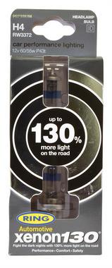 Ring Automotive RW3377 12V 55W 448 H7 130% Xenon Professional Headlight Bulbs Pair Thumbnail 1