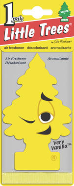 Little Tree MTR0008 Fun Air Freshener - Very Vanilla Thumbnail 2