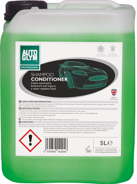 Autoglym 5 Litre Car Cleaning Detailing Bodywork Shampoo Conditioner Thumbnail 1
