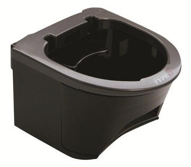 Type S DH02772 Charcoal Grey Combo Twin Drink Holder Single Thumbnail 1
