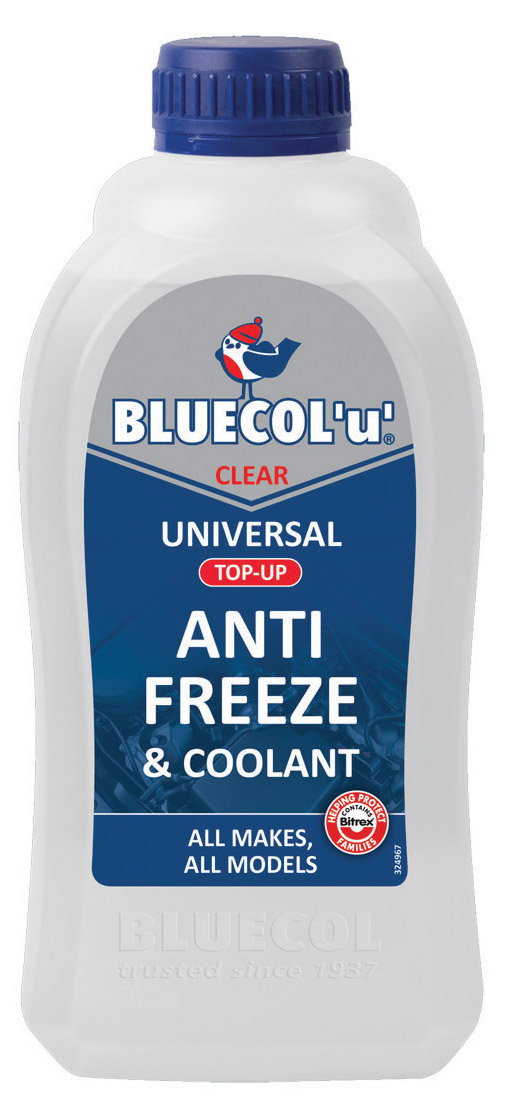 Bluecol BLU001 1 Litre Universal Car Anti Freeze Coolant