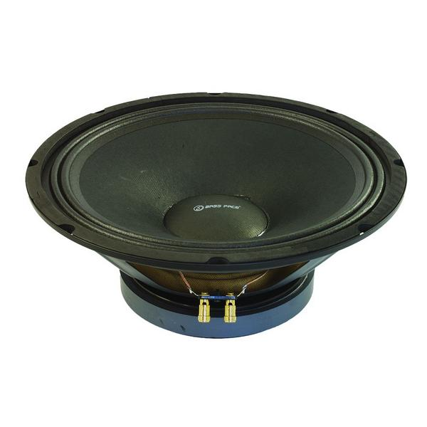 "Bassface PAW12.1 600w 12"" 30cm 8Ohm Mid Woofer Midbass Driver SQ Speaker Single Thumbnail 2"
