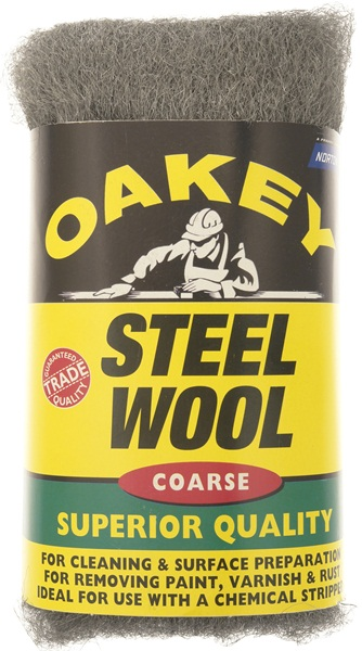 Oakey 63642526773 Course Steel Wool 200 Grams