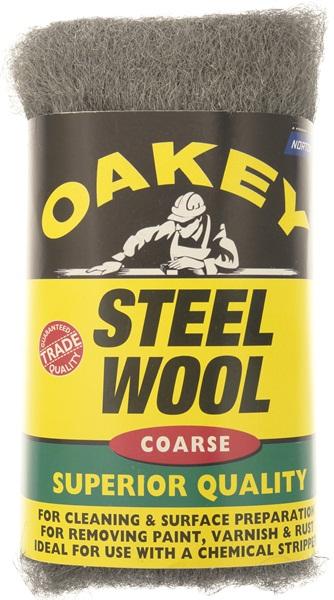 Oakey 63642526773 Course Steel Wool 200 Grams