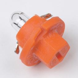 Ring Automotive RU509TMOR Car Van 12V 1W Orange Base Indicator Panel Bulb Single Thumbnail 1