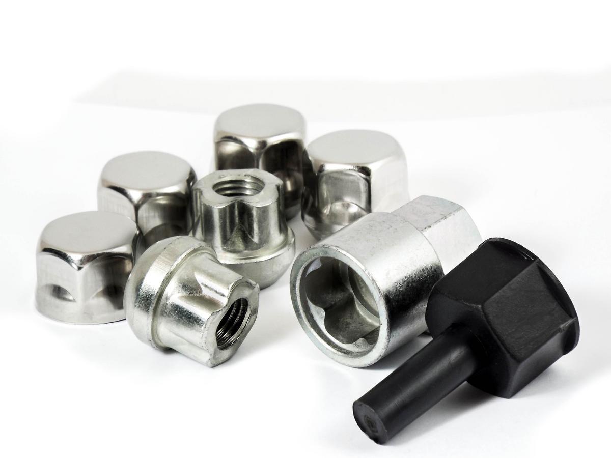 Trilock CFI/B M12 x 1.5 19mm RADIUS Locking Wheel Nut For Honda Rover
