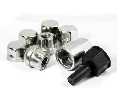 Trilock CFI/B M12 x 1.5 19mm RADIUS Locking Wheel Nut For Honda Rover Thumbnail 1