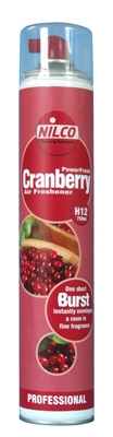 Nilco SVTN750CSP Cranberry Air Freshner Power Spray Aerosol 750ml