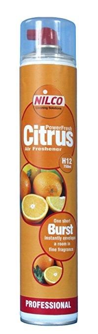 Nilco SVTN750CG Citrus Air Freshner Power Spray Aerosol 750ml