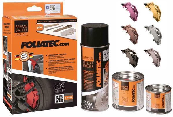 Foliatech FT2181 Car Performance Brake Caliper Paint Metalic Grey Kit Thumbnail 4