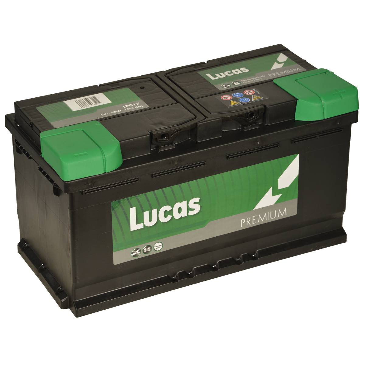 Lucas LP017 Audi BMW Mercedes VW 12v Volt 90Ah 720CCA 017 4 Year Car Battery