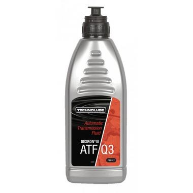 Technolube AQD010 ATF-Q3 Dexron 3 Automatic Car Van 1 Litre Transmission Fluid Thumbnail 1