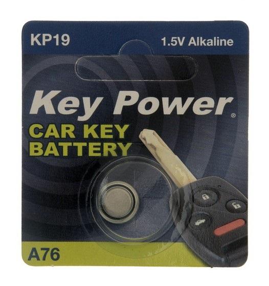 Key Power A76 Car Alarm Fob Battery Replacement Long Life Single