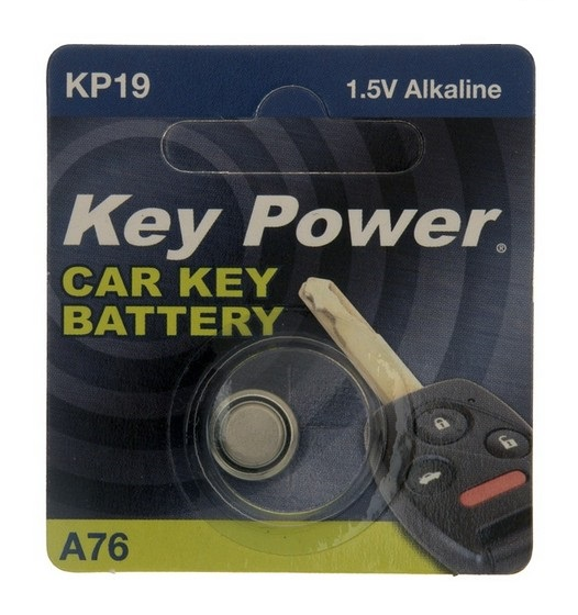 Key Power A76 Car Alarm Fob Battery Replacement Long Life Single