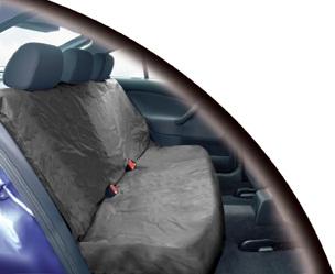 Streetwize HDRGYSC Automotive Car Heavy Duty Waterproof Single Rear Grey Single