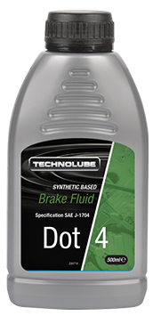 Technolube ADF500 DOT 4 Car Van 500ml Brake Fluid Thumbnail 1