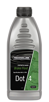 Technolube ADF010 DOT 4 Car Van 1 Litre Brake Fluid