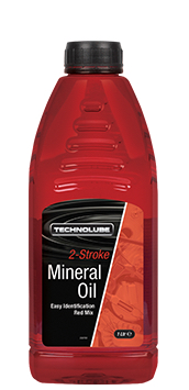 Technolube ASM010 2 Stroke Car Van 1 Litre Mineral Oil