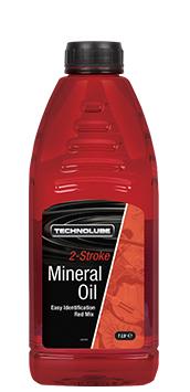 Technolube ASM010 2 Stroke Car Van 1 Litre Mineral Oil Thumbnail 1