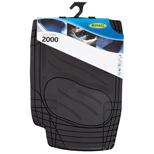 Ring Automotive RMAT13 Car Mats Dura Shield 2000 Black Set