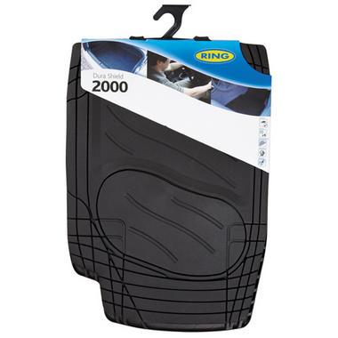 Ring Automotive RMAT13 Car Mats Dura Shield 2000 Black Set Thumbnail 1