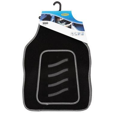 Ring Automotive RMAT23 Car Mats Carpet Shield 3000 Black Set Thumbnail 1