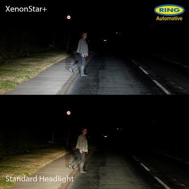 Ring Automotive RW4448 12V 55W 448 H1 +30% 4400K Xenon Star+ Headlight Bulbs Pair Thumbnail 3