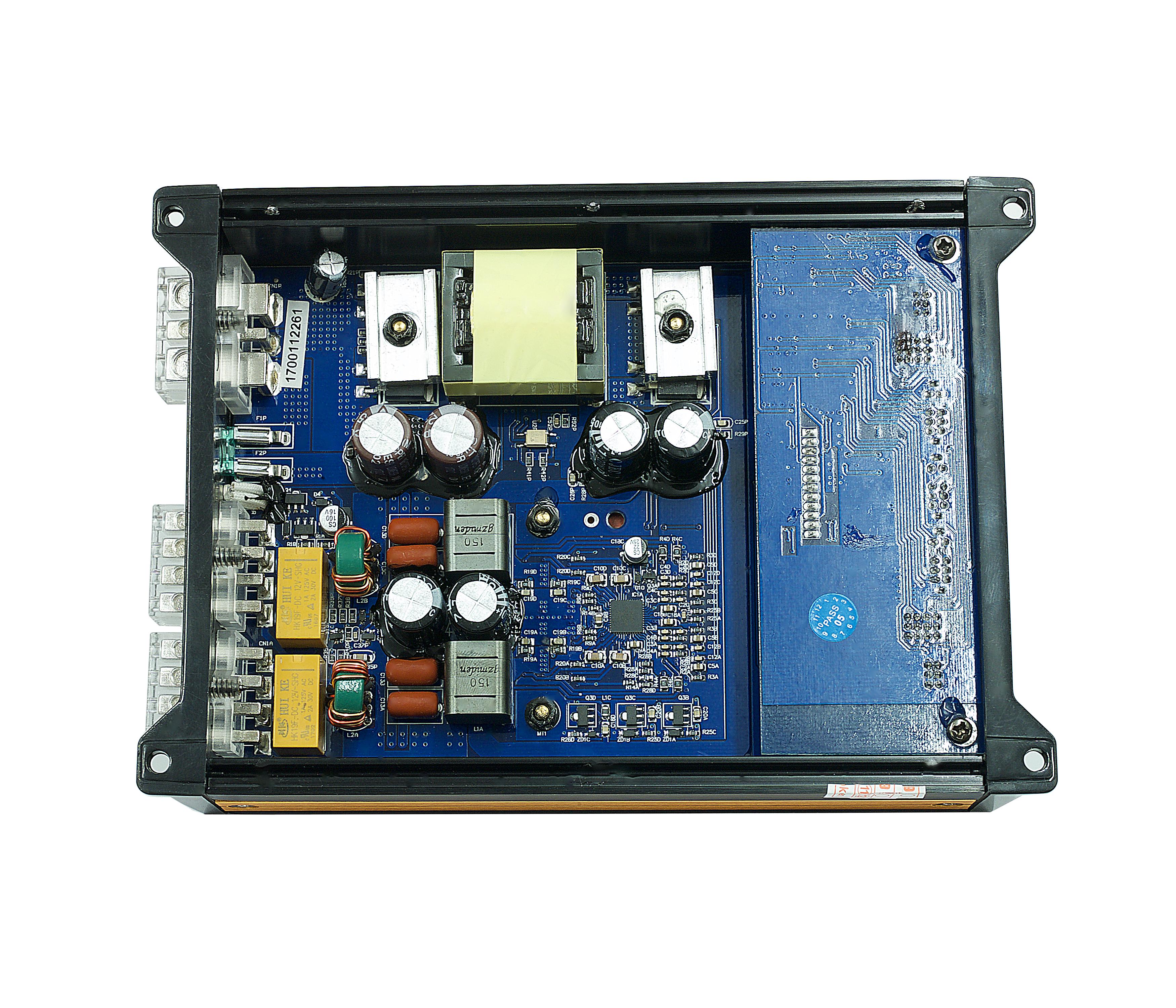 Thompsons Ltd   2 Channel Class D Micro Sized Car Speaker Amplifier ...